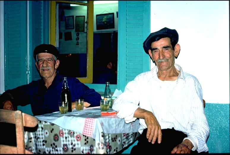 Skiathos 1976 - at the Taverna Mesogia © Otto Leholt