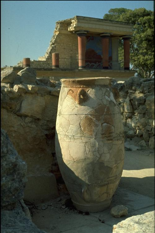 Knossos - storage jar apx. 1976 Photo: O.Leholt - Canon TX